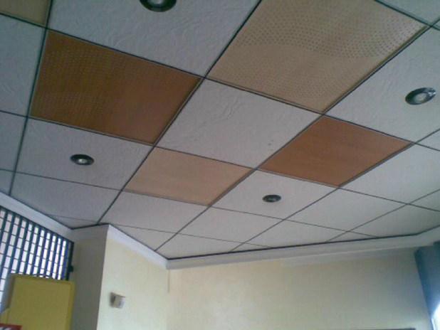 Plasterboard Radiant ceiling/wall panel SQUARE - Henco by Cappellotto