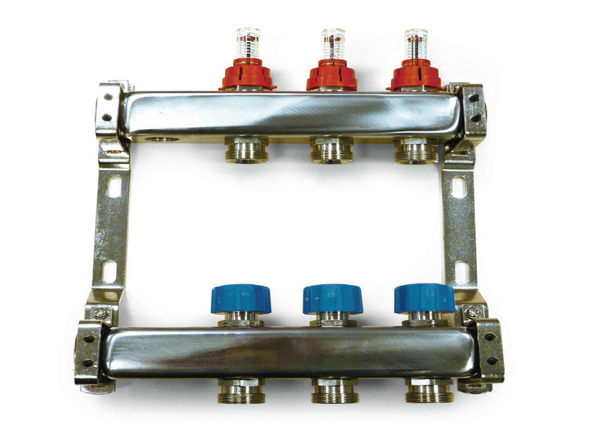 Zone module and collector Stainless steel manifolds - Henco by Cappellotto