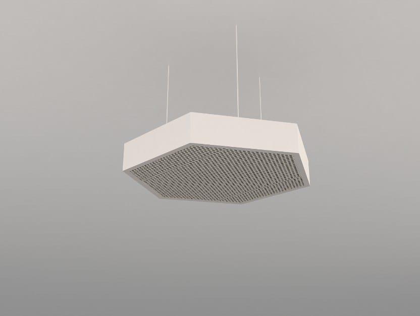 Hanging acoustical panels / pendant lamp NCA H600-900-1200 | Pendant lamp - Neonny