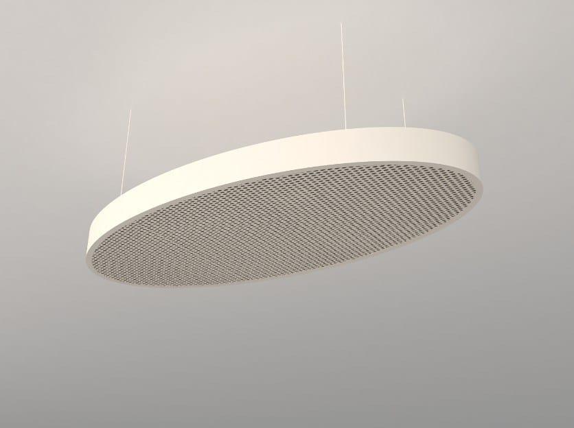 Hanging acoustical panels / pendant lamp NCA O6012-9018-1224 | Pendant lamp - Neonny