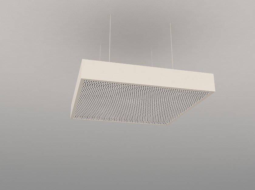 Hanging acoustical panel / pendant lamp NCA S600-900-1200 | Pendant lamp by Neonny