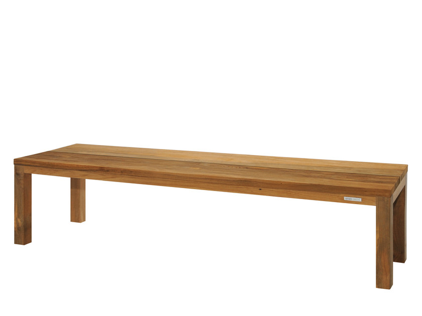 Teak garden bench VIGO | Wooden bench - MAMAGREEN