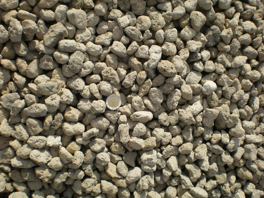 Natural volcanic aggregate Pumice by EUROPOMICE