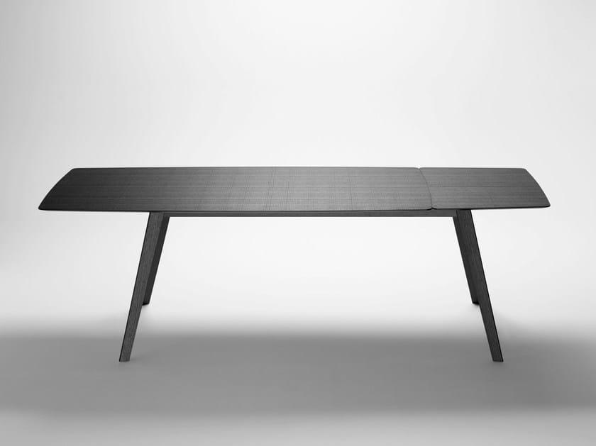Extending wooden table AISE | Extending table - TREKU