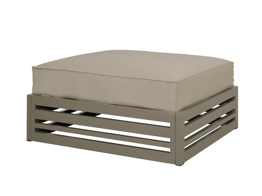 Aluminium pouf / footstool YUYUP | Footstool - MAMAGREEN