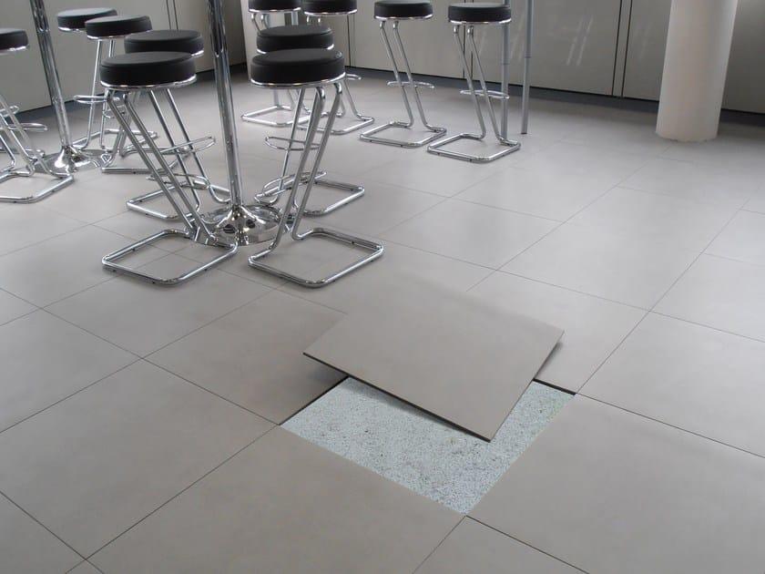 Pavimento autoposante in ceramica freefloor newfloor - Costo posa piastrelle su pavimento esistente ...