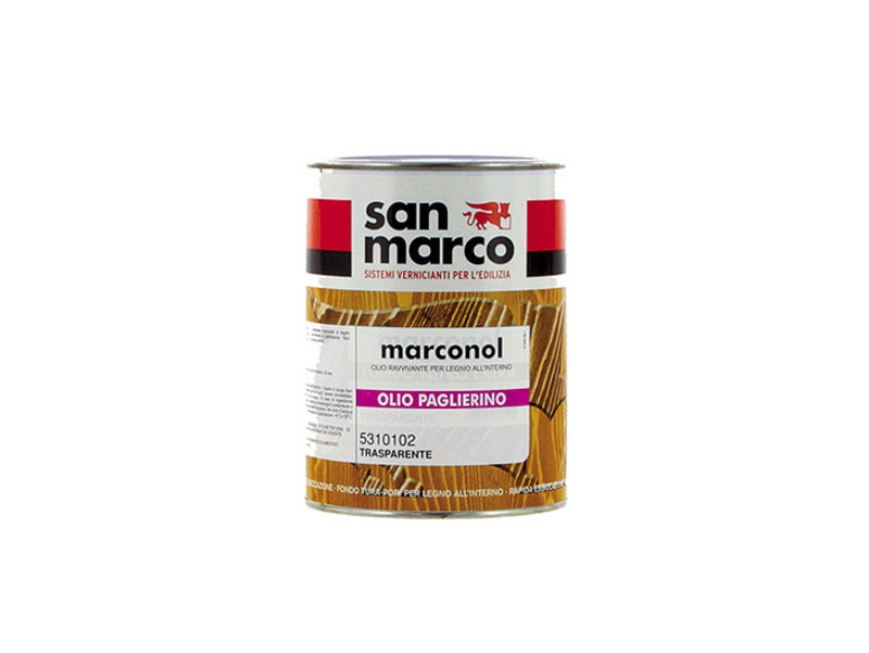 Wood treatment MARCONOL OLIO PAGLIERINO by San Marco