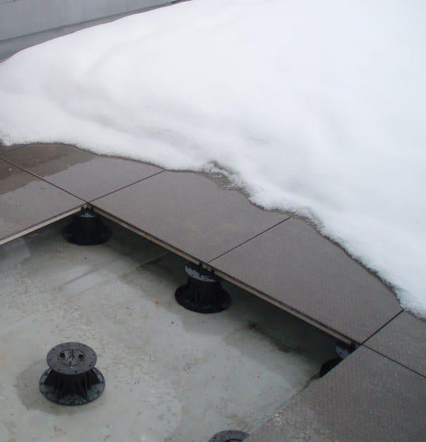 Pavimento sopraelevato da esterno e interno x floor newfloor - Pavimento da esterno ...