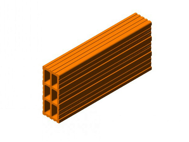 Clay block for internal partition Clay block - 6 - FORNACI SCANU