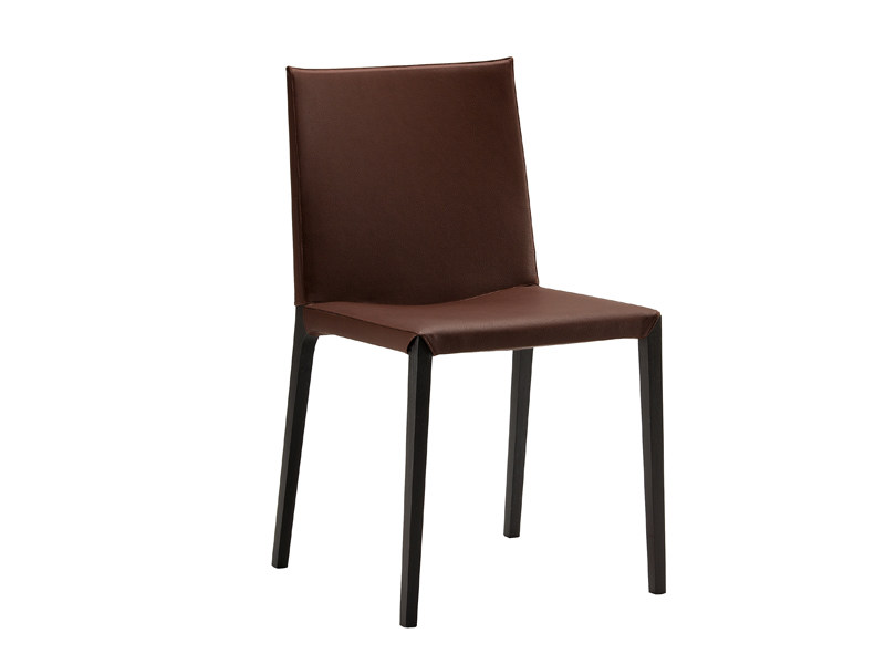 Tanned leather chair ADA - Zanotta
