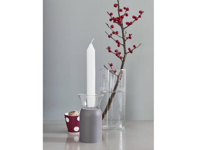 Polyurethane gel candle holder FUMÈ by Geelli by C.S.