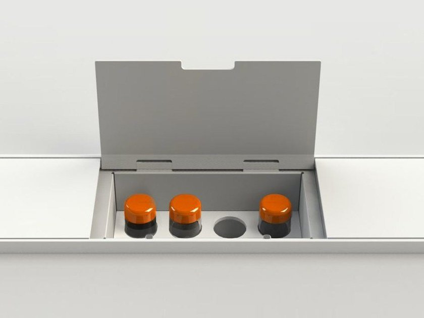 Accessories for equipped tracks EASYRACK KITCHEN STEP | Spice box - DOMUSOMNIA
