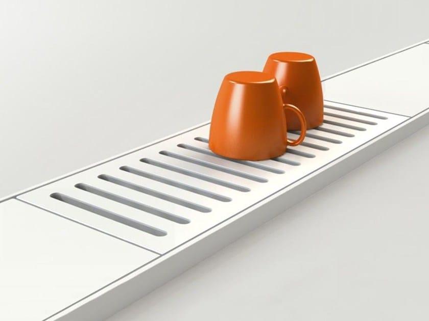 Kitchen equipped track EASYRACK KITCHEN STEP | Drip module - DOMUSOMNIA