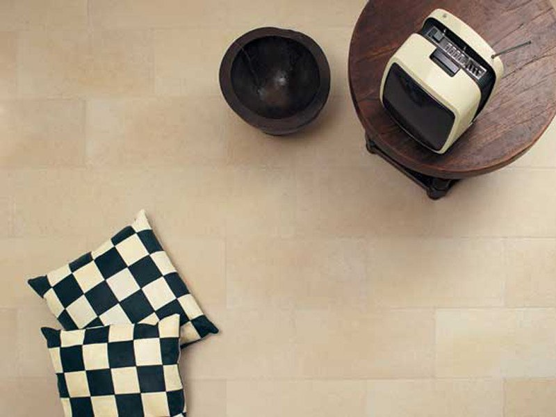 Indoor/outdoor porcelain stoneware wall/floor tiles with stone effect PIETRA DI GERUSALEMME by GranitiFiandre