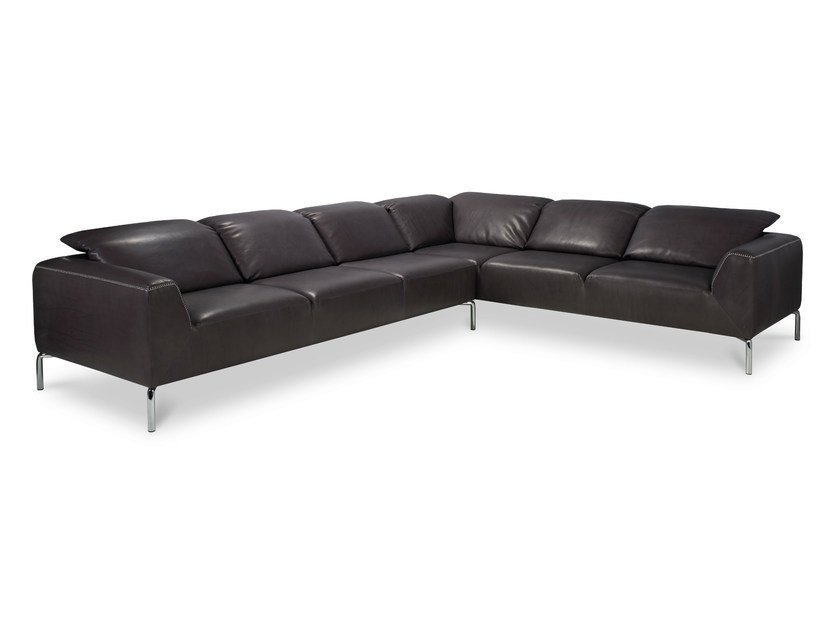Corner leather sofa SIENNA | Leather sofa - Jori