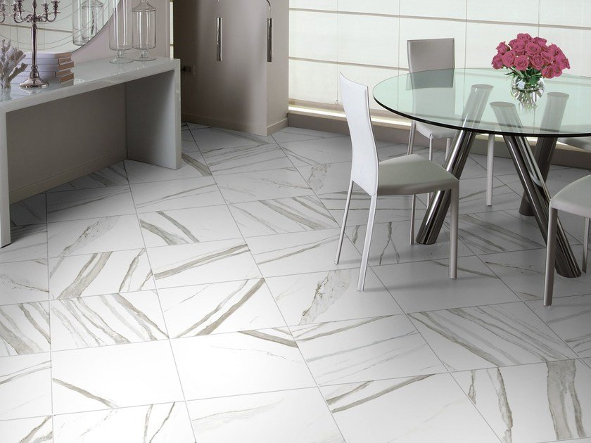 Wall/floor tiles with marble effect CALACATTA - CERAMICHE BRENNERO