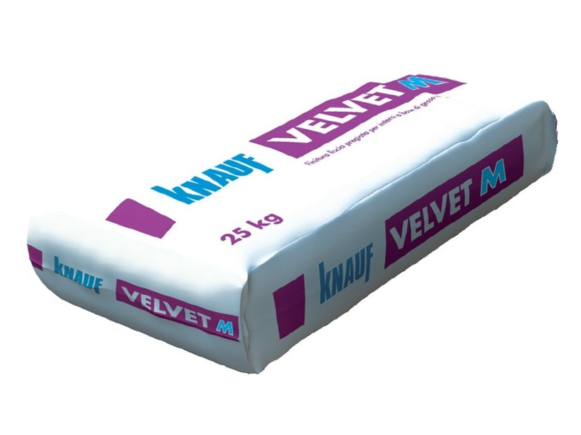 Smoothing compound VELVET M - Knauf Italia