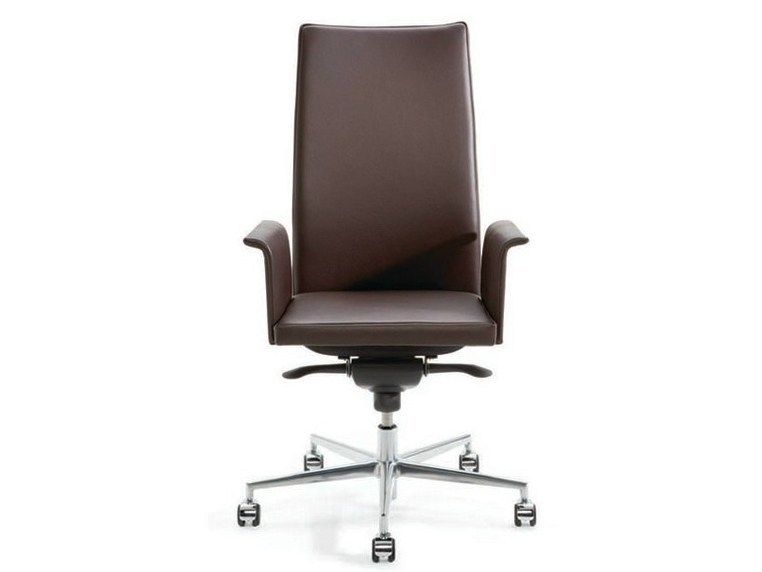 Swivel executive chair with armrests with casters .PER_SE | Executive chair - Spiegels