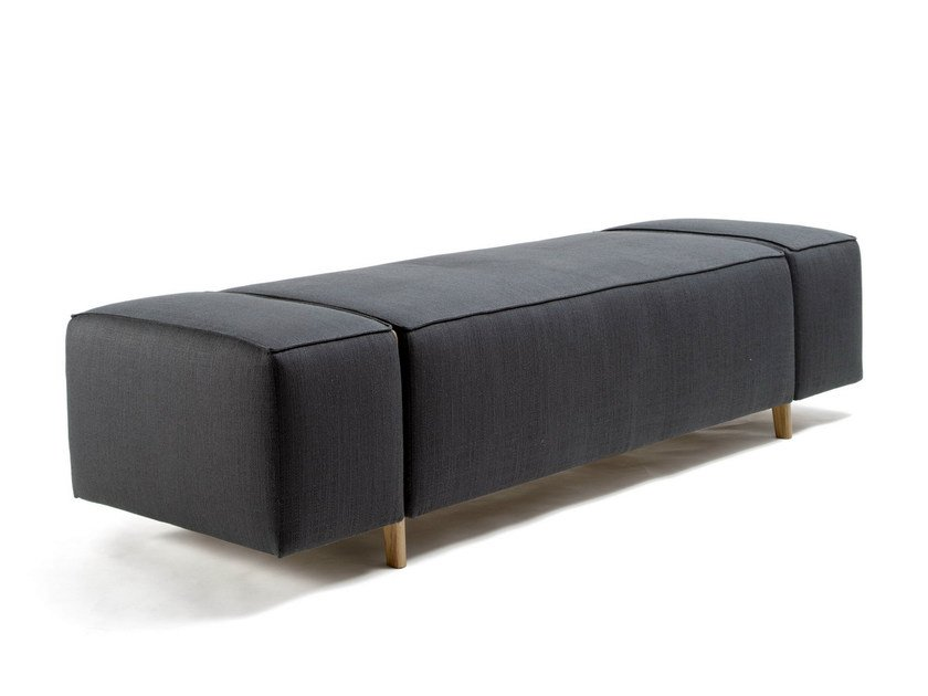 Upholstered bench BOX WOOD | Bench by Inno