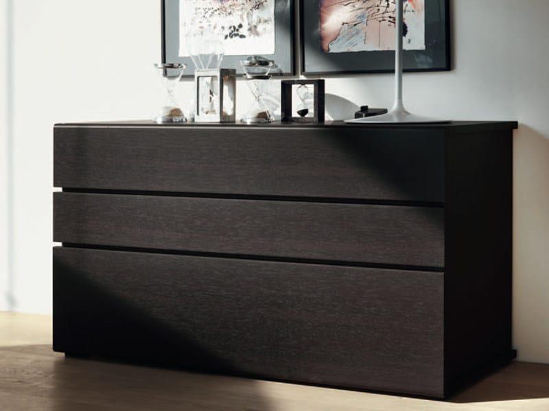 Cassettiera comodino in legno joe by feg industria for Industria mobili