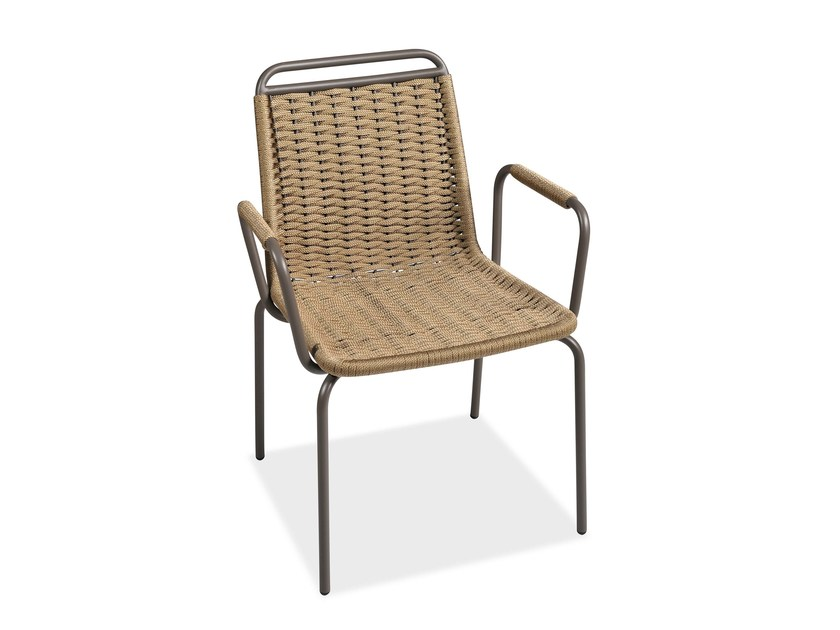 Garden chair with armrests PORTOFINO | Chair with armrests - Roberti Rattan