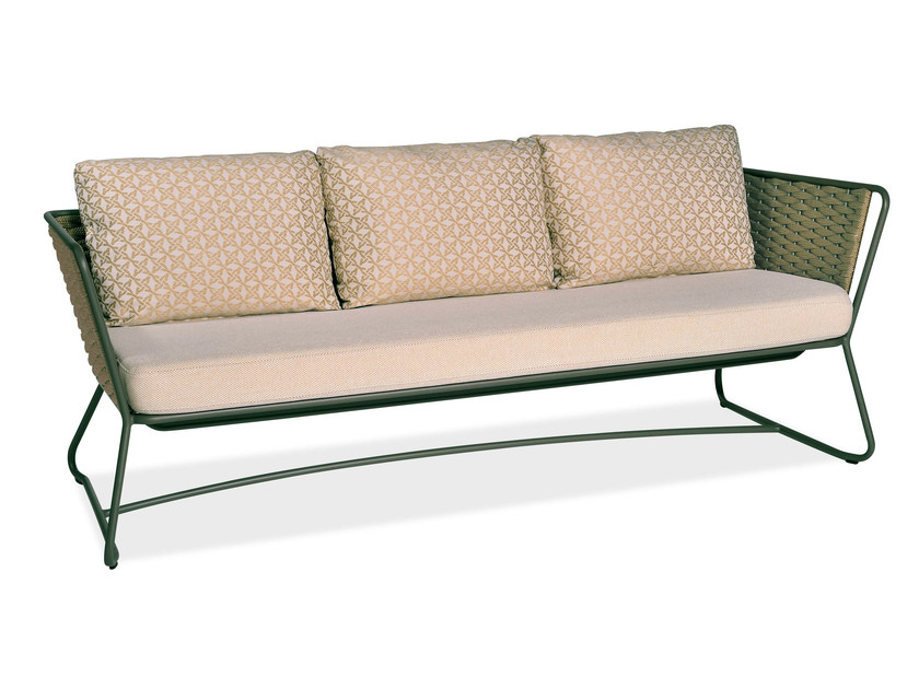 3 seater garden sofa PORTOFINO | 3 seater sofa - Roberti Rattan