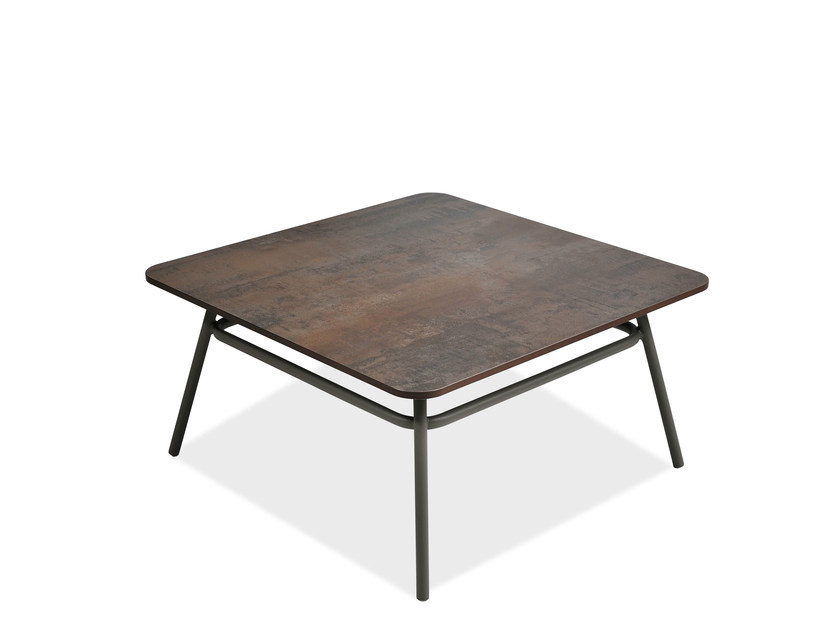 Square garden side table PORTOFINO | Square coffee table - Roberti Rattan