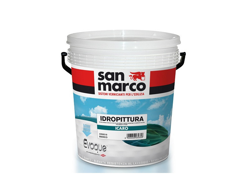 Washable water-based paint ICARO - Colorificio San Marco