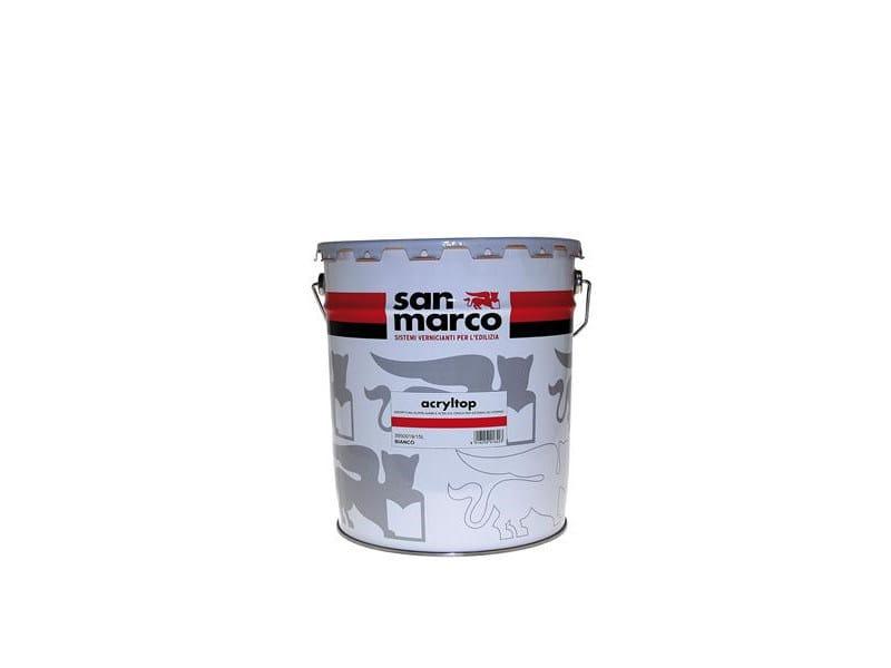 Washable water-based paint ACRYLTOP - Colorificio San Marco