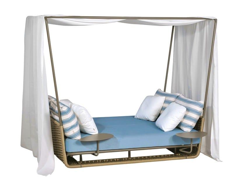 Portofino letto da giardino by roberti rattan design for Letto giardino