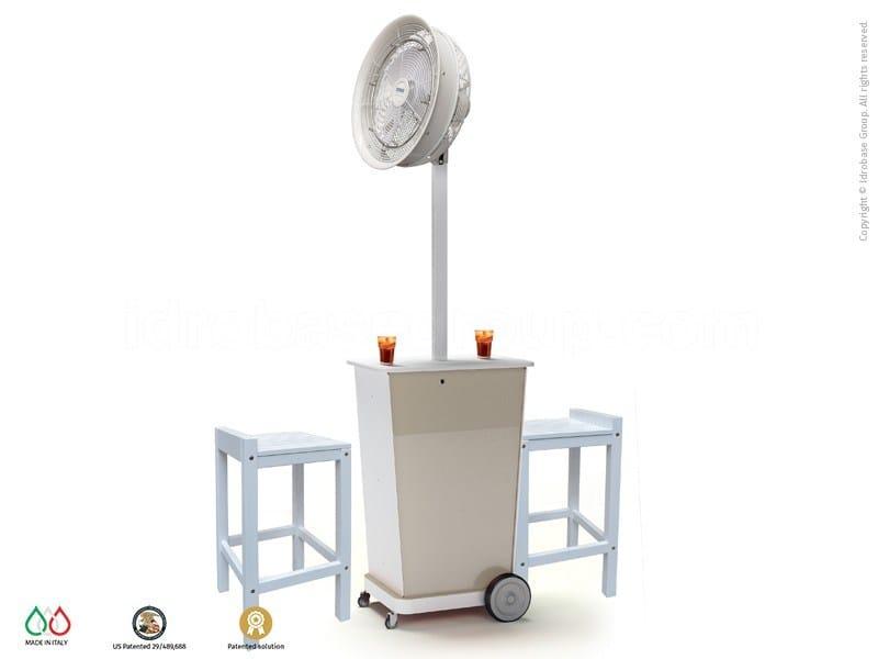 Nebulizzatore da esterno da terra con ventilatore ATMOSFERA 90 ...
