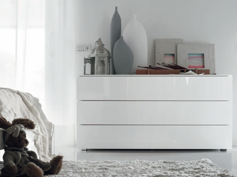 Comodino / comò in legno KUBIK - FEG Industria Mobili