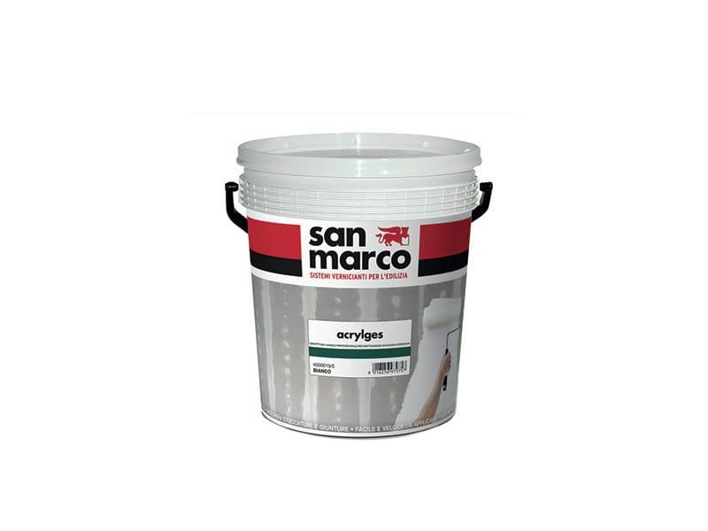 Washable water-based paint ACRYLGES - Colorificio San Marco