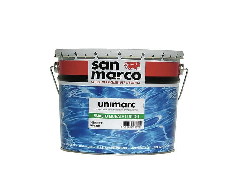 Washable water-based paint UNIMARC SMALTO MURALE LUCIDO - Colorificio San Marco