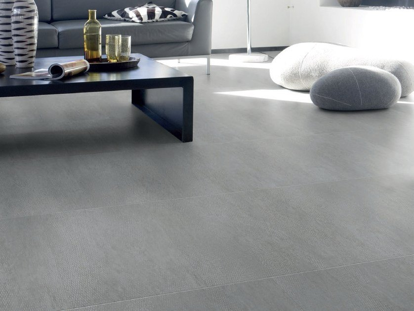 Vinyl flooring with concrete effect VIRTUO LOCK | Flooring with concrete effect - GERFLOR