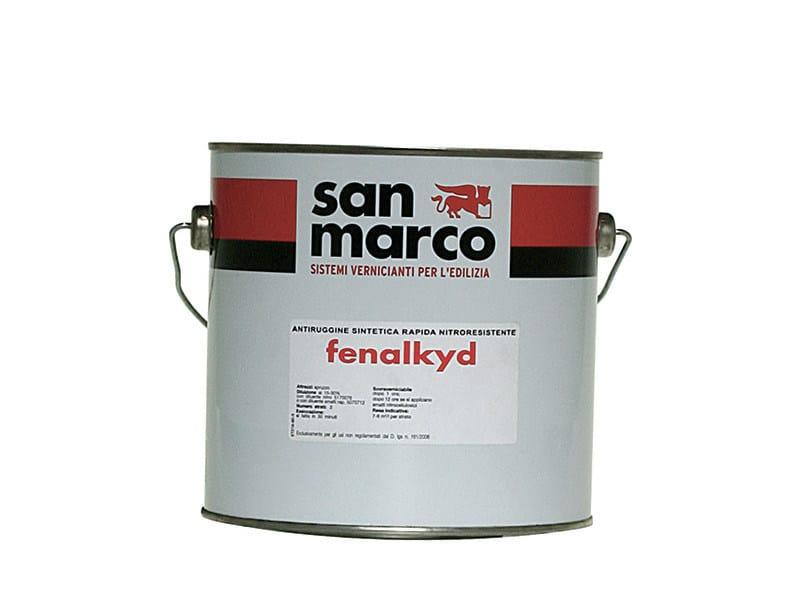 Anti-corrosive and anti-rust paint FENALKYD - Colorificio San Marco