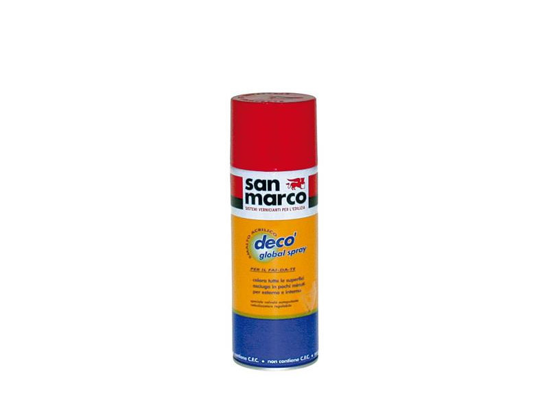 Enamel GLOBAL DECO' SPRAY - Colorificio San Marco