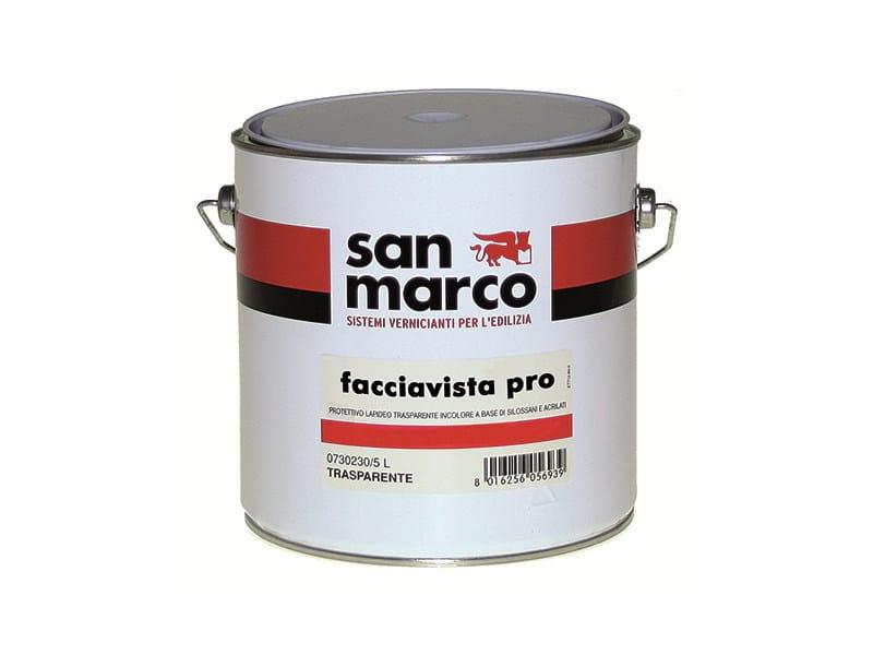 Protective varnish FACCIAVISTA PRO - Colorificio San Marco