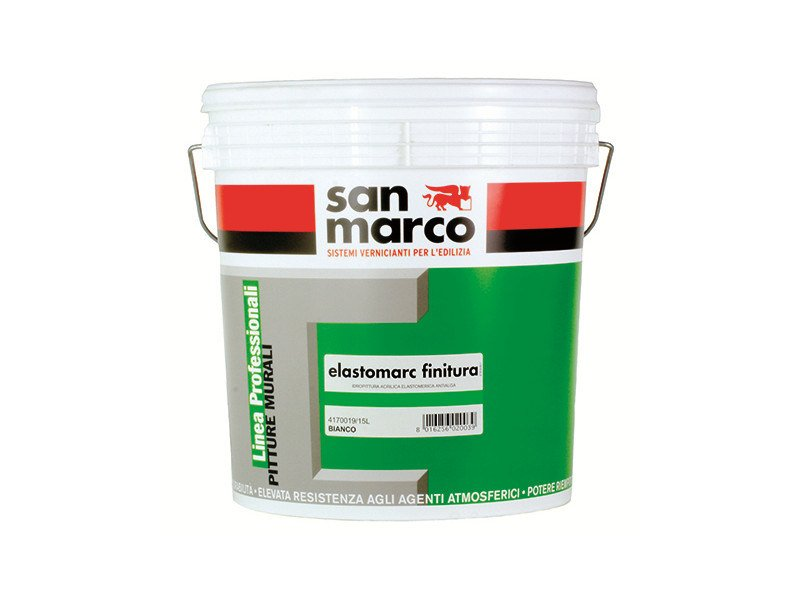 Breathable water-based paint ELASTOMARC FINITURA - Colorificio San Marco