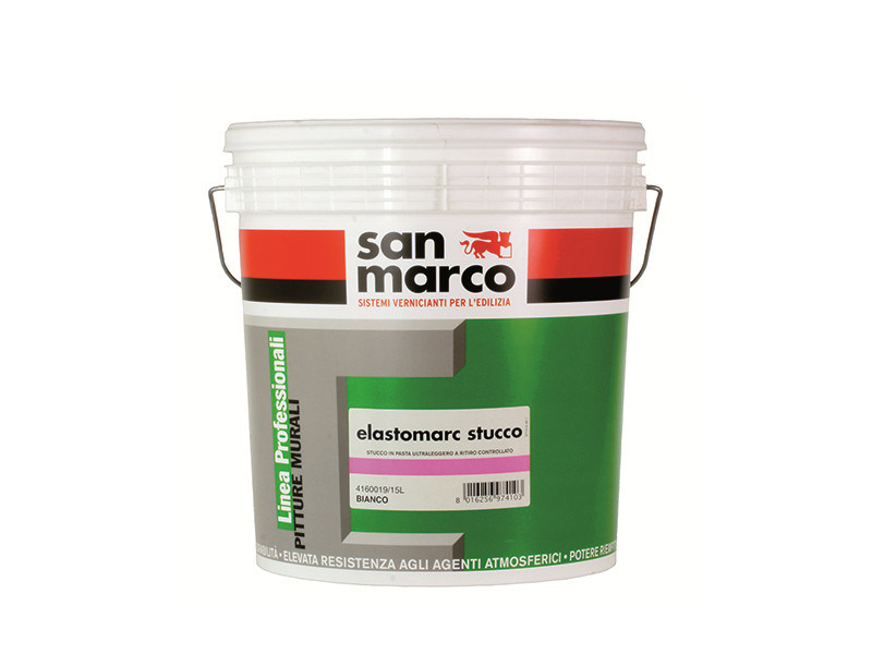 Smoothing compound ELASTOMARC STUCCO - Colorificio San Marco