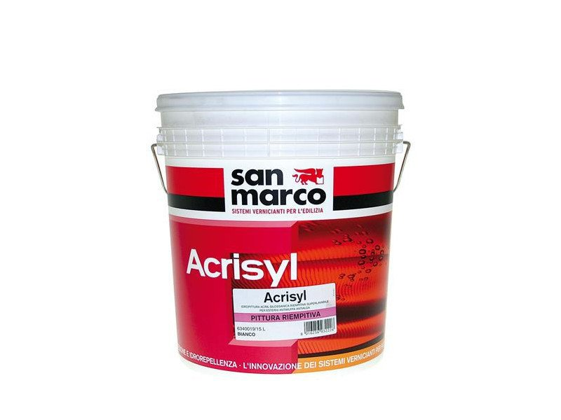 Washable water-based paint ACRISYL PITTURA RIEMPITIVA - Colorificio San Marco