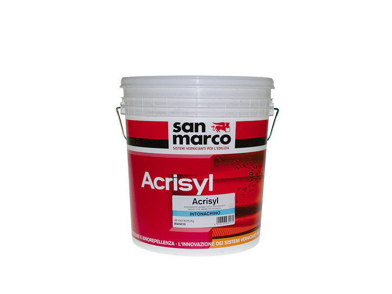 Renovating and de-humidifying additive and plaster ACRISYL INTONACHINO GRANA FINISSIMA - Colorificio San Marco