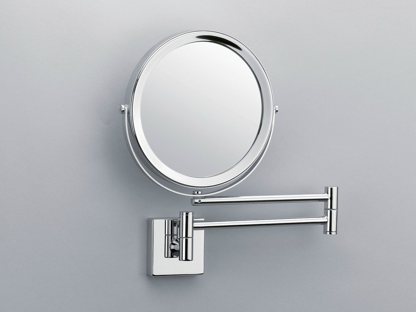 Round wall-mounted shaving mirror SP 28/2/V - DECOR WALTHER
