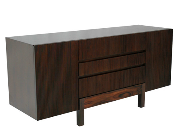 Wooden sideboard with doors with drawers EDG - E | Sideboard - WARISAN