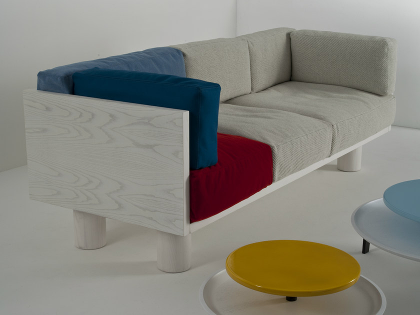 Fabric sofa OTTOMAN SOFA M - Colé Italian Design Label