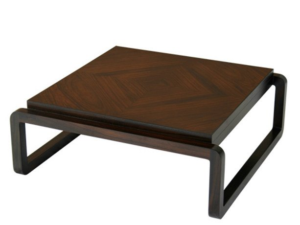 Rectangular wooden coffee table for living room LUN - KOON | Coffee table - WARISAN