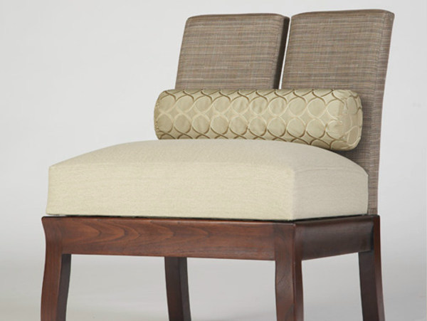 Upholstered fabric easy chair DUO | Easy chair - WARISAN