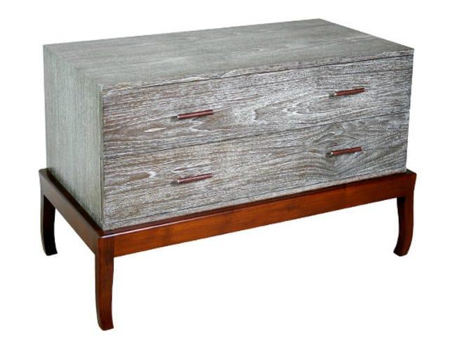 Wooden dresser DUO | Dresser - WARISAN