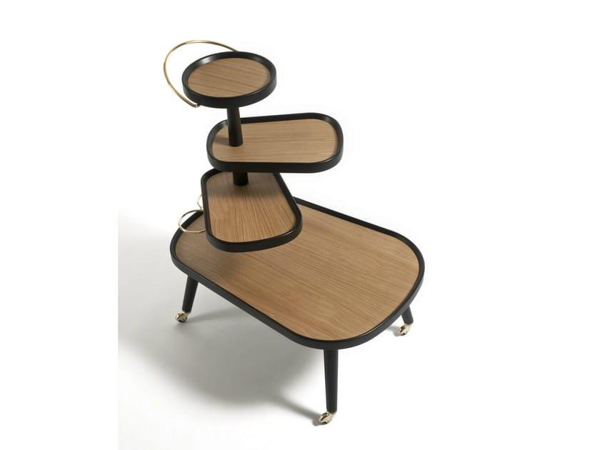 Beech trolley SUSHI KART | Beech trolley - Colé Italian Design Label