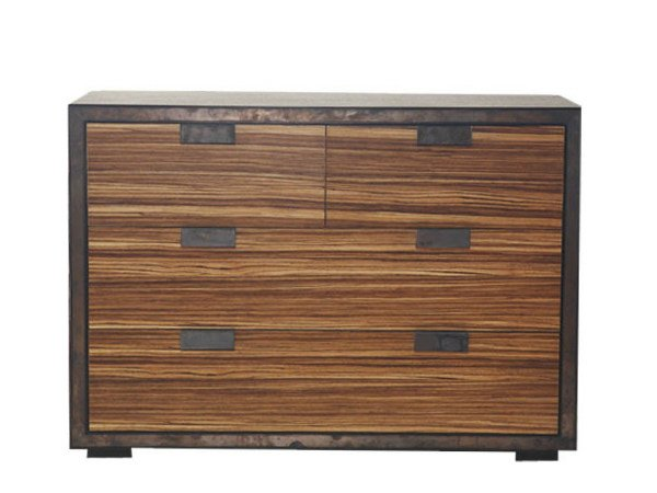Wooden sideboard with drawers RIFT | Sideboard - WARISAN